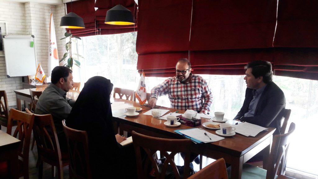 جلسه بررسی وضعیت برنامهها و پروژههای شرکت فناپ در حوزه تحول دیجیتال