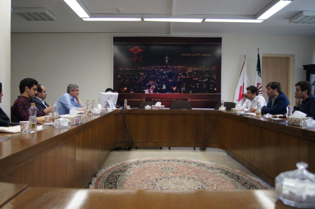 جلسه بررسی وضعیت تحول دیجیتال صنعت برق در پژوهشگاه نیرو