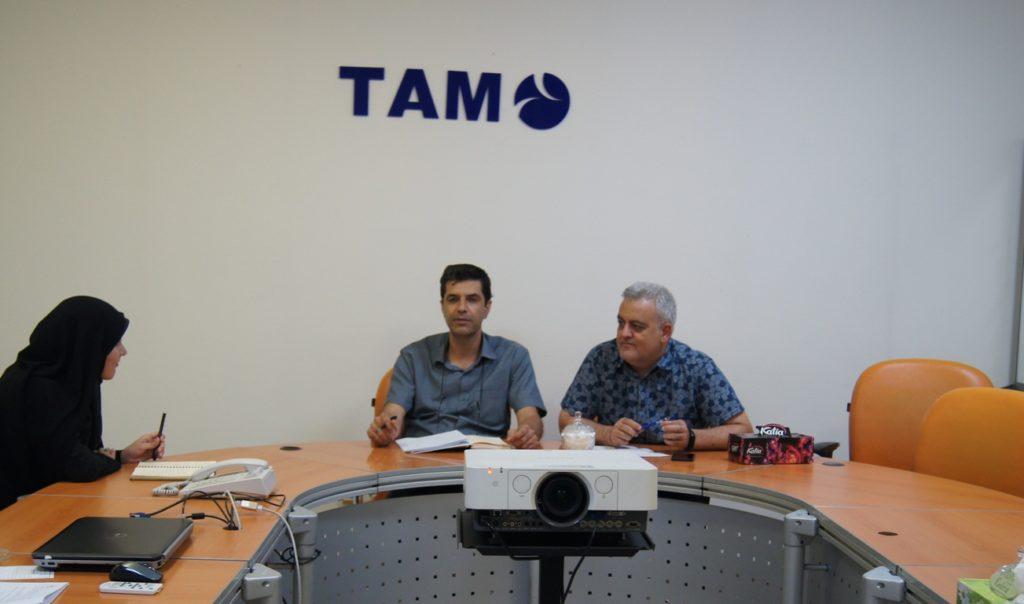 جلسه بررسی وضعیت تحول دیجیتال صنعت تولید از دیدگاه مدیران شرکت تام ایران خودرو