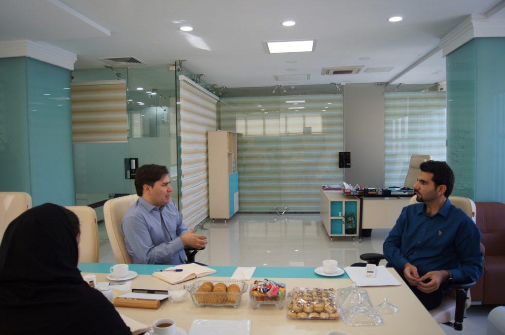 جلسه بررسی وضعیت اکوسیستم استارت آپی کشور از دیدگاه معاون صندوق نوآوری و شکوفایی