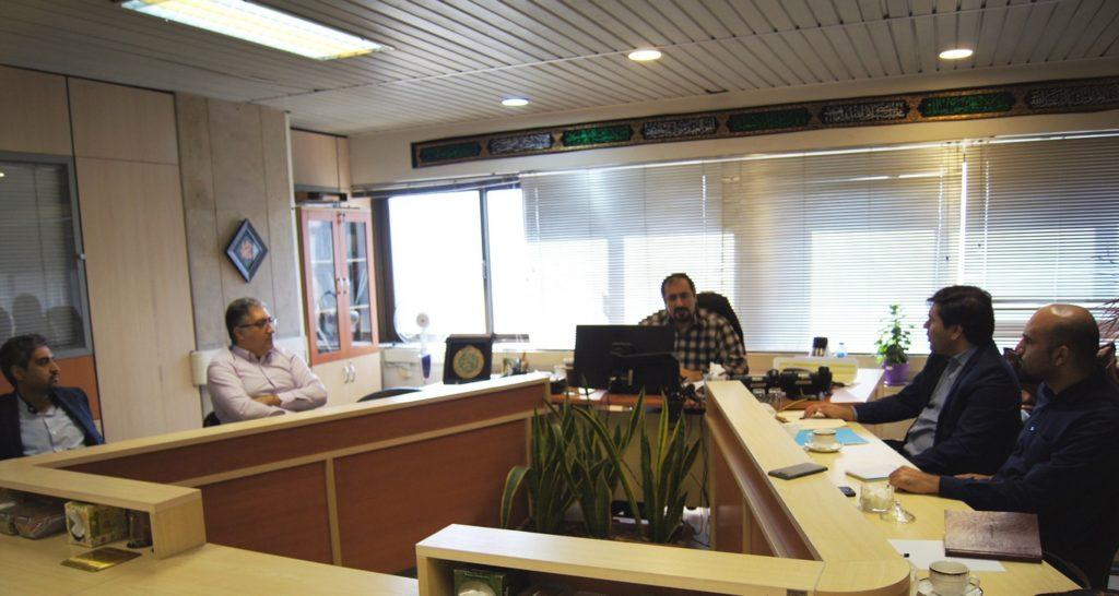 جلسه بررسی وضعیت تحول دیجیتال کشور در سازمان فناوری اطلاعات شهرداری تهران