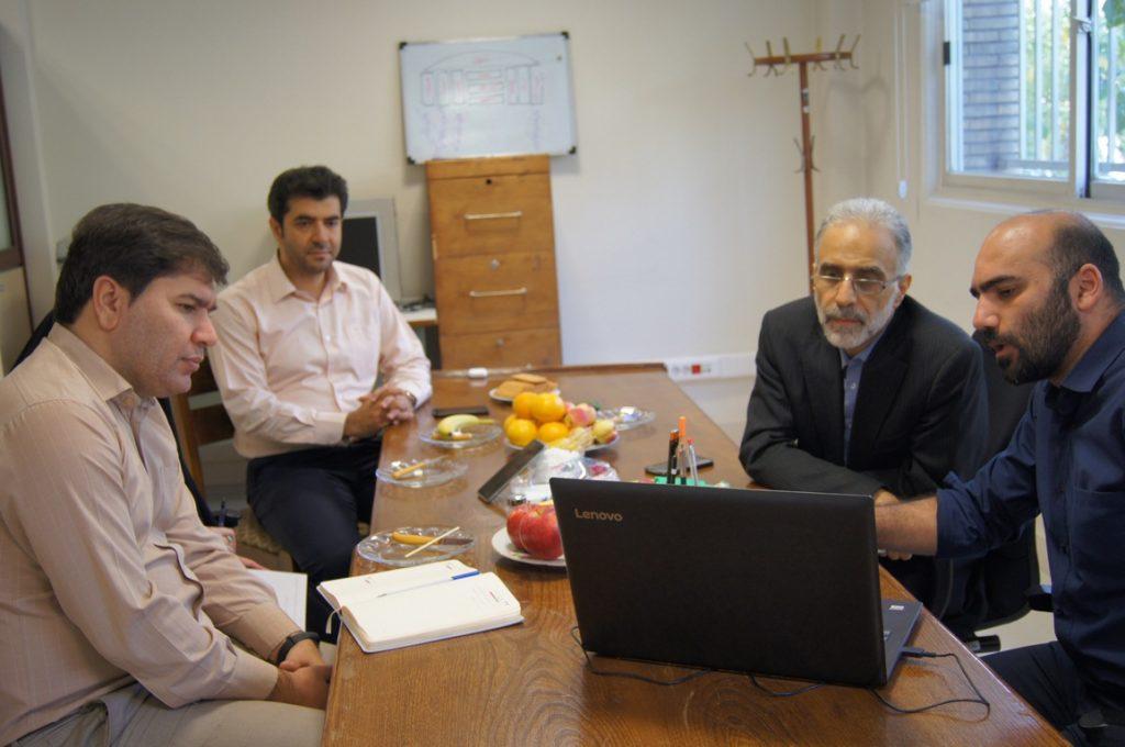 جلسه با مشاور حقوقی پروژه ملی تحول دیجیتال