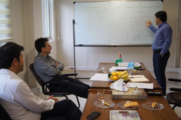 جلسه با مشاور ارشد پروژه ملی تحول دیجیتال
