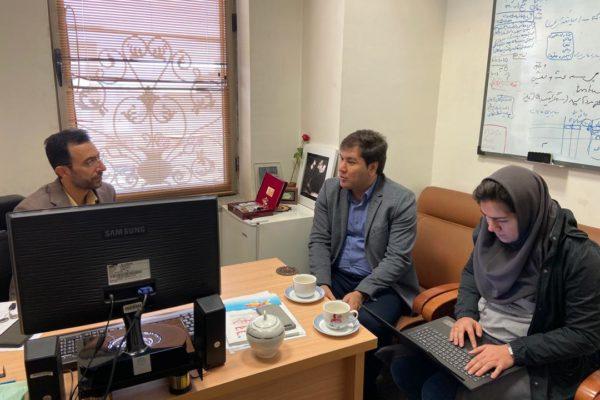 جلسه با مشاور پروژه در زمینه سواد دیجیتال