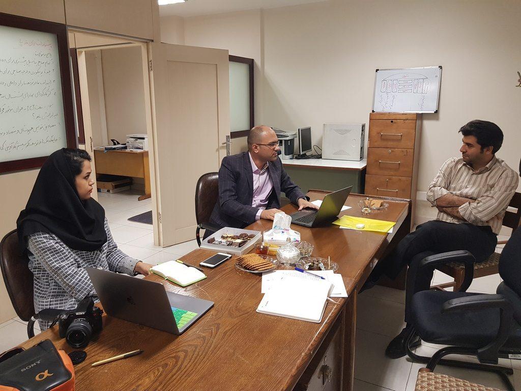 جلسه با مشاور پروژه در زمینه هویت دیجیتال، جناب آقای دکتر هاتف رسولی